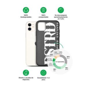 Carcasa móvil biodegradable